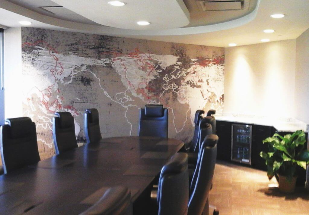 Corporate Boardroom Interior and Design