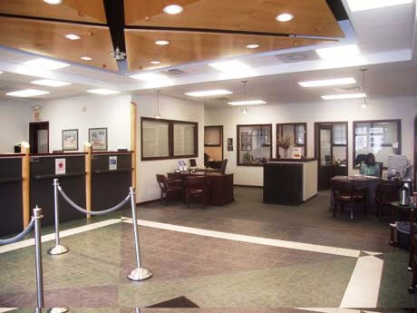 Interior and Design of Bank