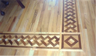 Residential Interior and Design Wood Floor