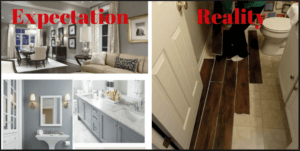 interior and design llc, expectation and reality
